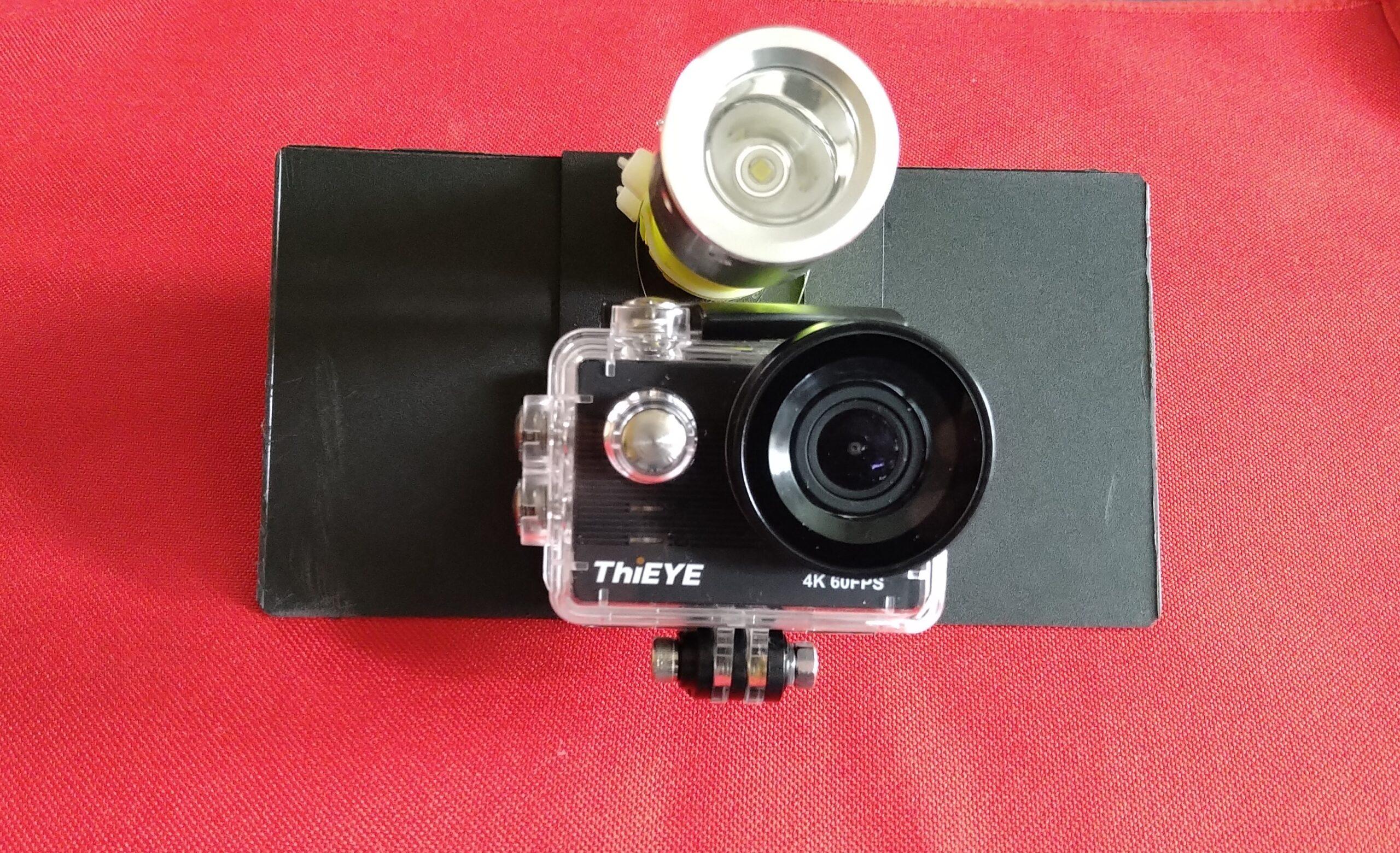 ThiEYE T5 Proを水中て使えるように改良!