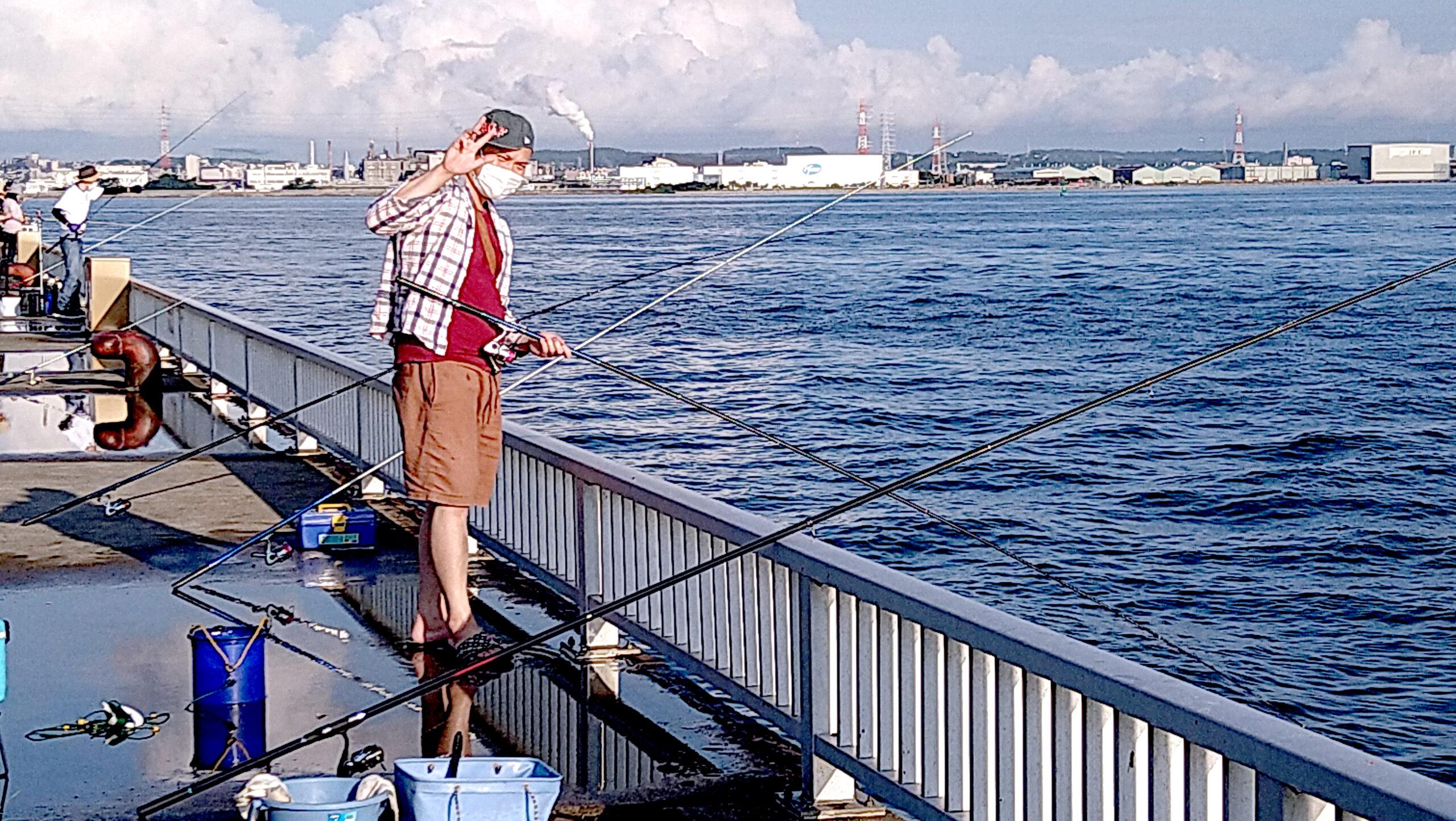 碧南海釣り広場へ釣行!『早く行って早く帰る』